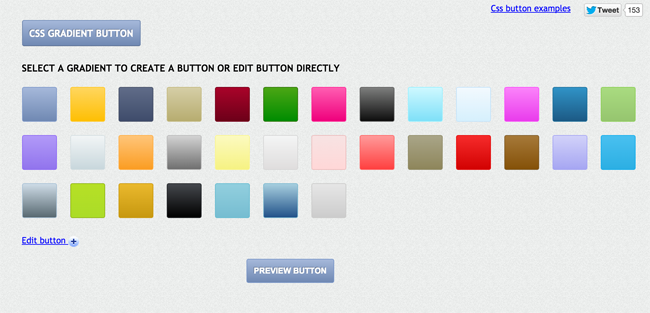 CssGradient Button