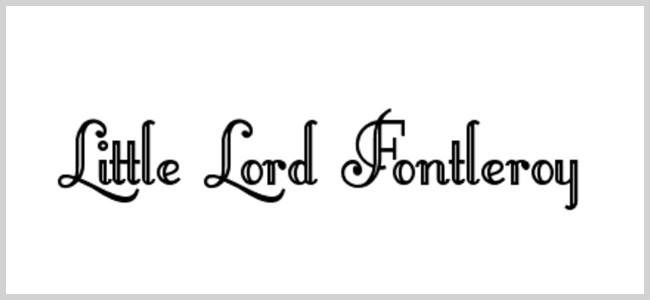 LittleLordFontleroy